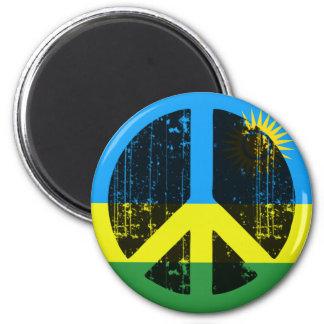 Paz en Rwanda Imán De Nevera