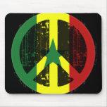 Paz en Senegal Alfombrillas De Ratones