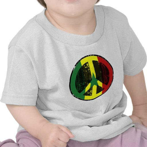 Paz en Senegal Camiseta