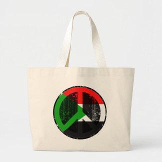 Paz en Sudán Bolsas De Mano