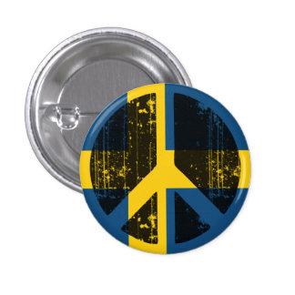 Paz en Suecia Chapa Redonda 2,5 Cm