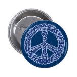 Paz en todas las idiomas pins