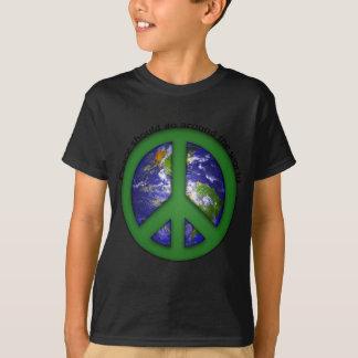 Paz en todo el mundo playera