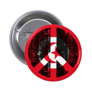 Paz en Túnez Pin Redondo 5 Cm