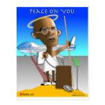 Paz en usted tarjeta postal