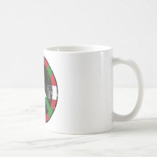 Paz en vasco tazas de café