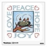 Paz, esperanza, amor, alegría