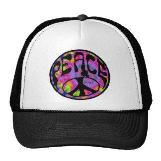 Paz - fondo teñido lazo gorra