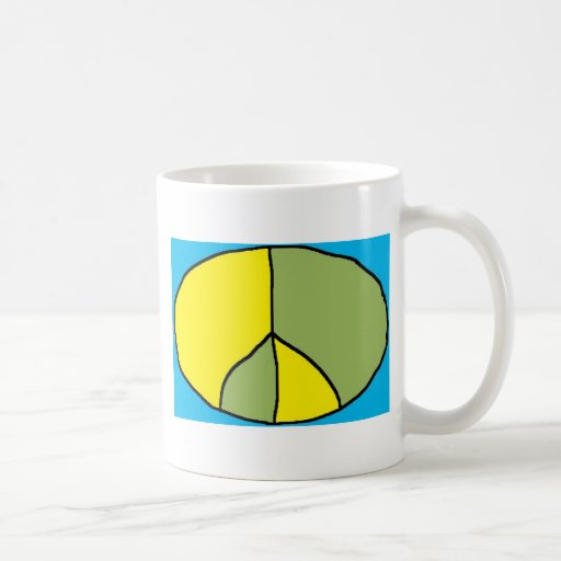 paz fresca taza básica blanca
