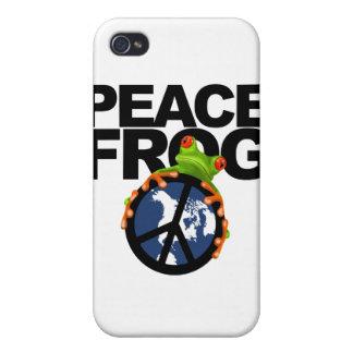 Paz, Frog-2 iPhone 4 Carcasa