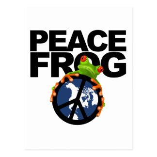 Paz Frog-2 Postales