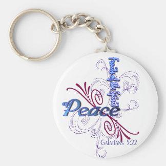 Paz (frutas del alcohol) llaveros
