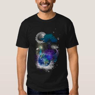 Paz geométrica cósmica poleras