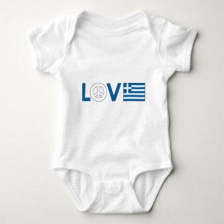 Paz Grecia del amor Playeras
