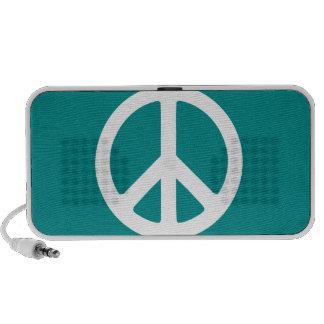 Paz hacia fuera altavoz de viaje