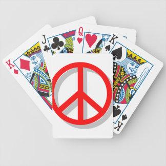 Paz hacia fuera baraja