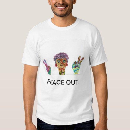 Paz hacia fuera playera