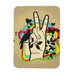 Paz Imán Flexible