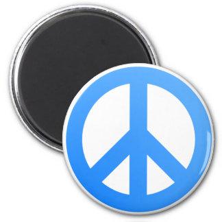 ¡Paz! Imán Redondo 5 Cm