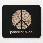 Paz interior tapete de ratón