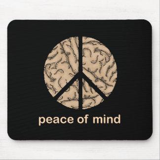 Paz interior alfombrilla de ratones