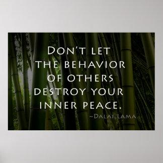 Paz interna póster