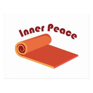 Paz interna tarjeta postal