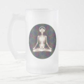 Paz interna taza de cristal