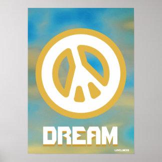 Paz interna verdadera ideal - cartel Cust Posters