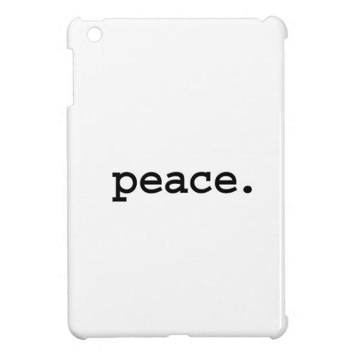 paz iPad mini coberturas