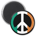 Paz irlandesa imanes de nevera