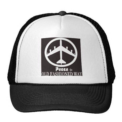 Paz la manera pasada de moda gorras
