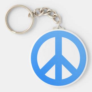 ¡Paz! Llavero Redondo Tipo Pin