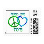 Paz - los años 70 del amor sellos