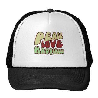 Paz maravillosa gorras de camionero