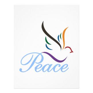 Paz Membrete Personalizado