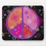Paz MOUSEPAD de la tarjeta del día de San Valentín Alfombrilla De Ratón