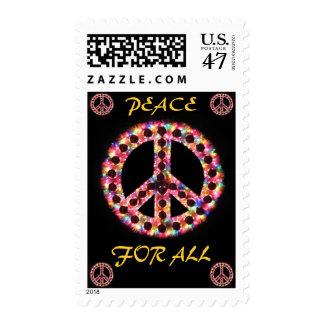 paz multi para todo el franqueo estampillas