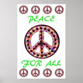 paz multi para todo el poster