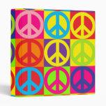 Paz multicolora múltiple