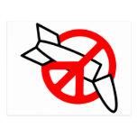 Paz ninguna guerra postal