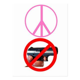 paz ningunos armas postal