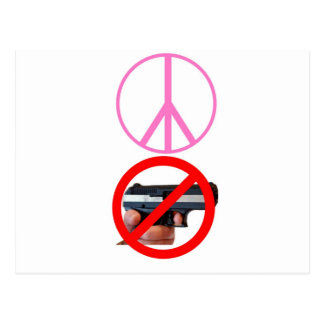 paz ningunos armas postales