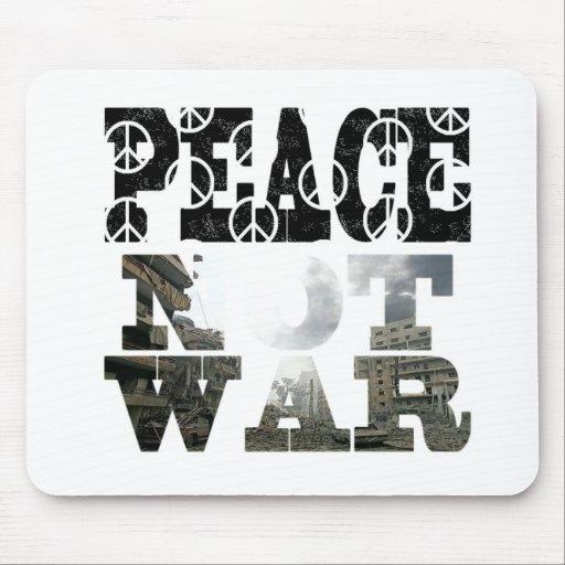 paz-no-guerra alfombrillas de ratón