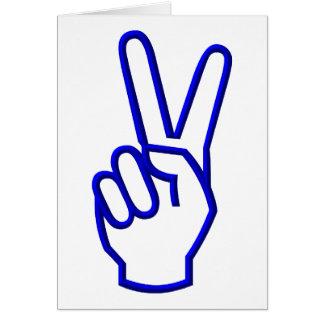 Paz o V para la victoria Felicitacion