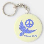 paz Obama 2012 Llavero Personalizado