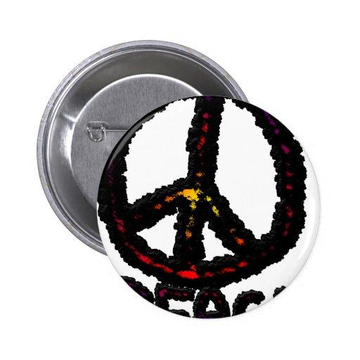 Paz oscura pin