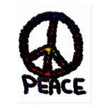 Paz oscura postales