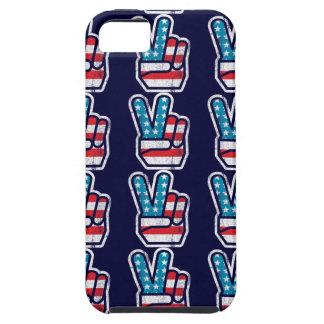 Paz para América iPhone 5 Carcasa