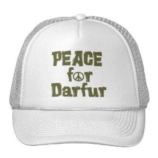 Paz para Darfur 1 Gorros Bordados